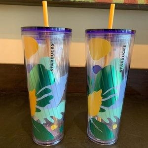 Starbucks Summer 2020 Palm Tumbler Cup